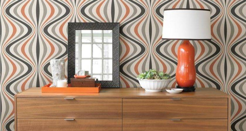 Hang Patterned Feature Wall