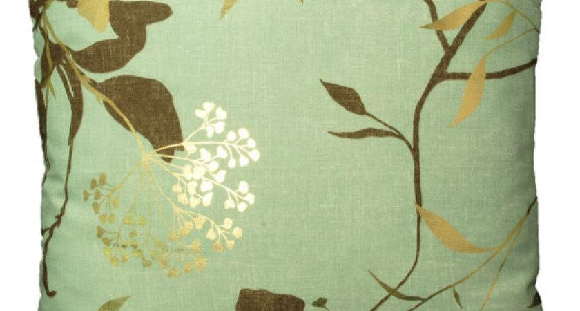 Harlequin Fusion Fabric Duck Egg Brown Gold Ellimaecushions