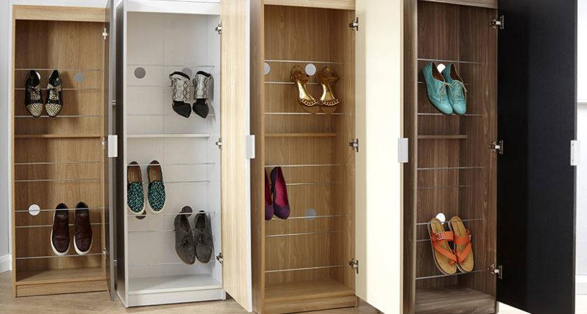 High Gloss Shoe Cabinet Next Day Delivery
