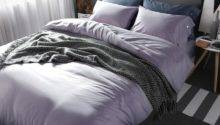 High Quality Gray Solid King Duvet Cover Bedding Sets