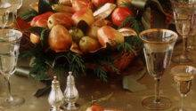 Holiday Centerpiece Gilded Pear Basket Martha Stewart