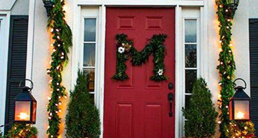 Holiday Front Door Decorations Decorate