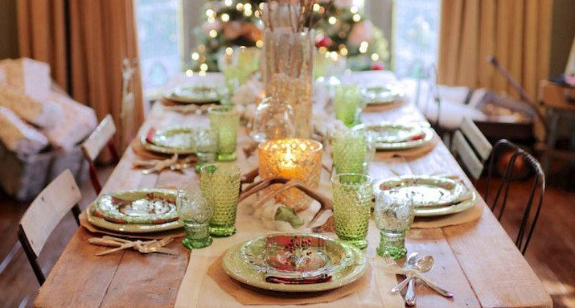 Holiday Table Setting Damsel Dior