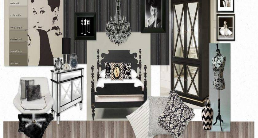 Hollywood Glamour Bedroom Old