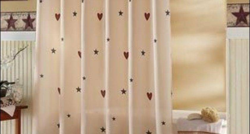 Home Design Best Ideas Country Shower Curtains