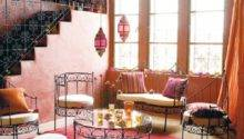 Home Design Moroccan Room Decor Girly Living Stripes
