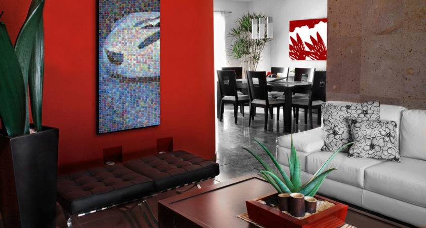 Home Interior Design Red Decorating Inspiration