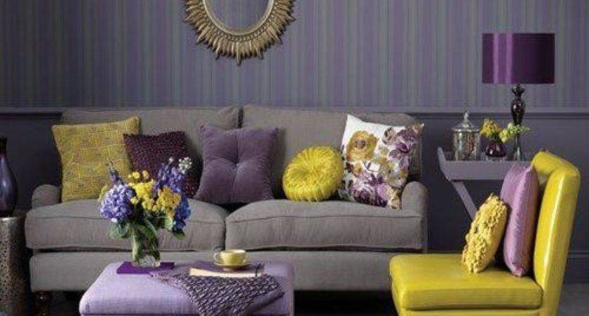 Home Quotes Theme Design Purple Gold Color Combination