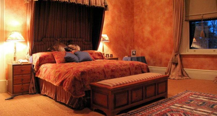 Home Remodeling Luxurious Romantic Redecorating Bedroom