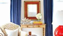 Home Rustic Red White Blue Hamptons Style