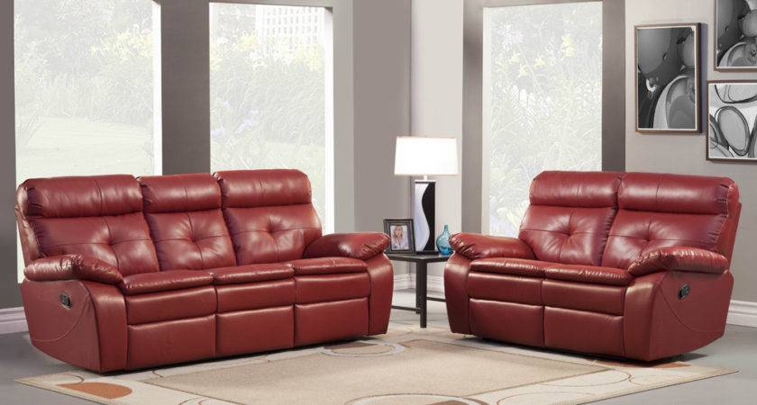 Homelegance Wallace Piece Leather Reclining Living Room
