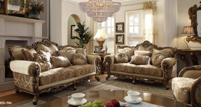 Homey Design Italian Style Traditional Living Room