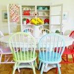 Hopscotch Lane Colorful Dining Room Chairs