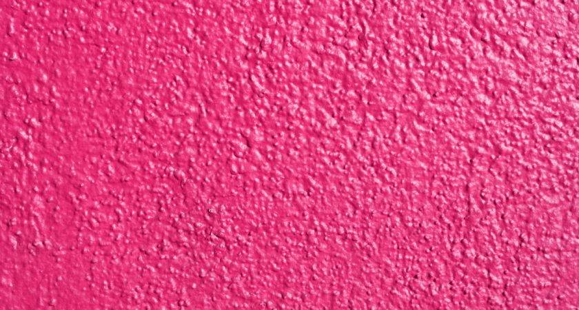 Hot Pink Painted Wall Texture Photograph