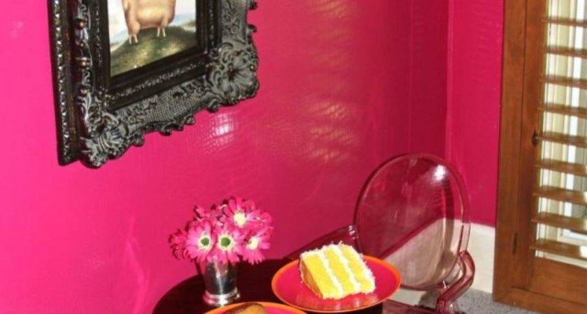 Hot Pink Wall Paint
