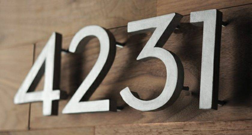 House Numbers Secure Wall Weld Talk Message Boards