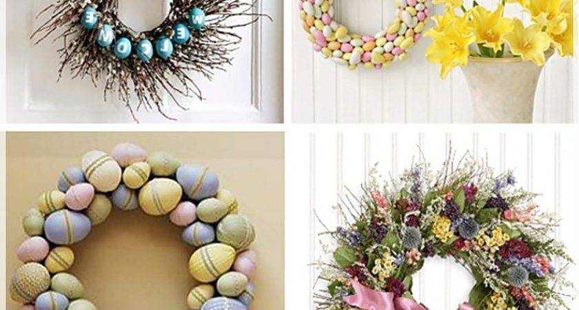 Ideas Easter Decorations Home Craftshady