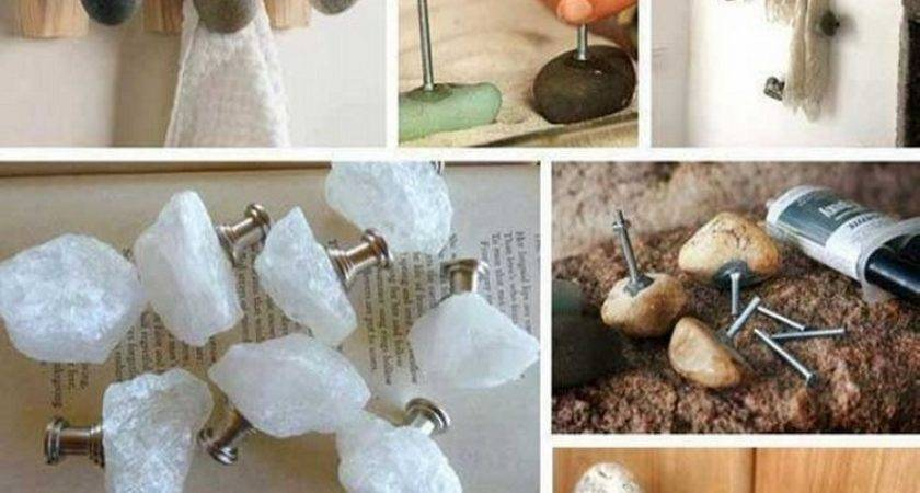 Ideas Home Decorating Stones Recycled Things
