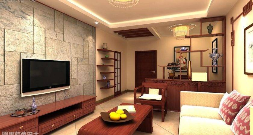 Ideas Living Room Wall Simple Rooms Home Design