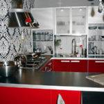 Ikea Black White Red Kitchen Foter