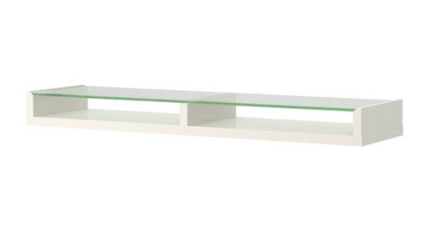 Ikea Floating Glass Shelves