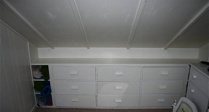 Img Large Drawers Built Into Knee Wall Offer