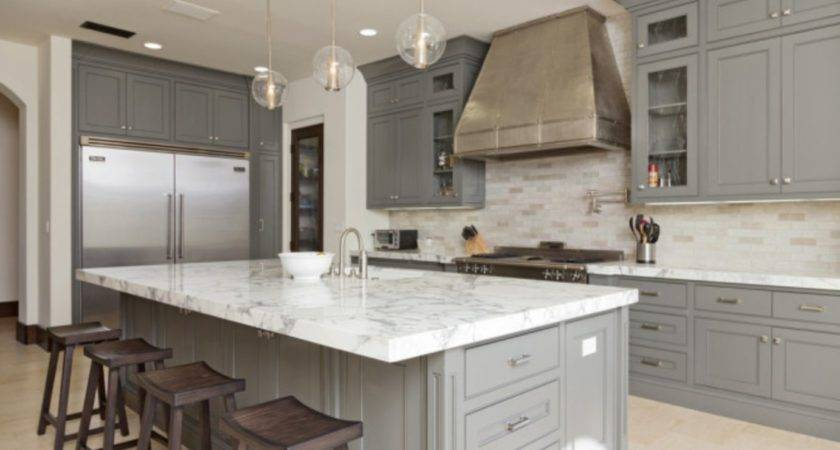 Incredible Gray Color Kitchen Cabinets Ideas Round Decor