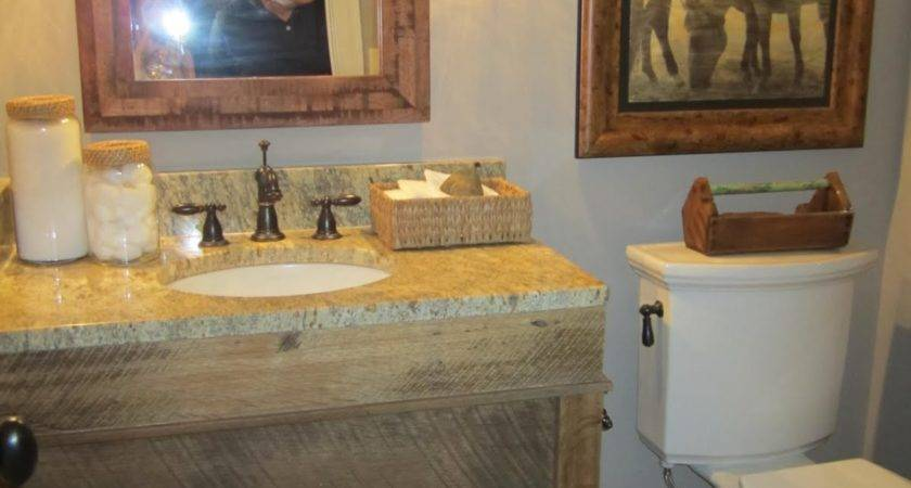Incridible Recycled Wooden Vanity Undermount Sink