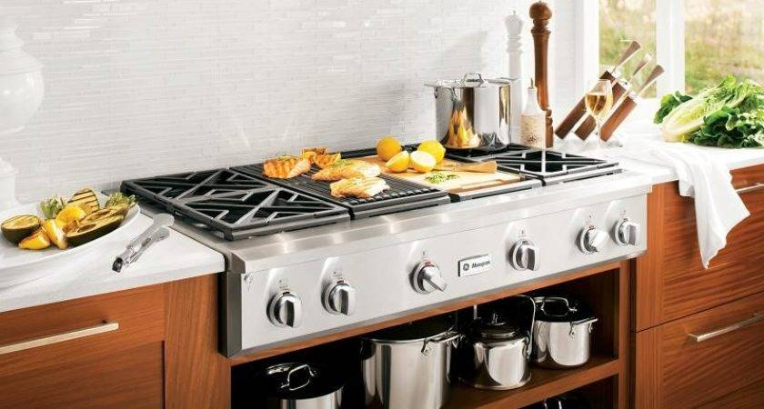 Indoor Kitchen Grill Gas Burning Mosaic Tile