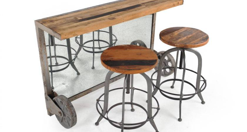 Industrial Bar Coffee Table Istage Homes