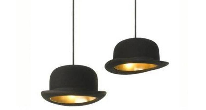 Innermost Jeeves Wooster Bowler Hat Pendant Black Gold