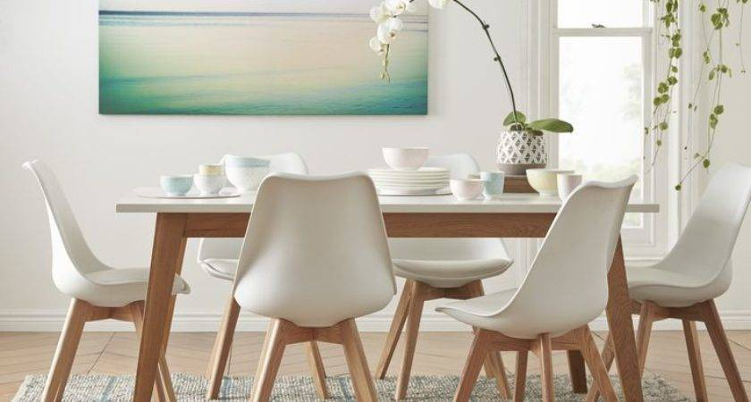 Innovative White Dining Table Chairs Room