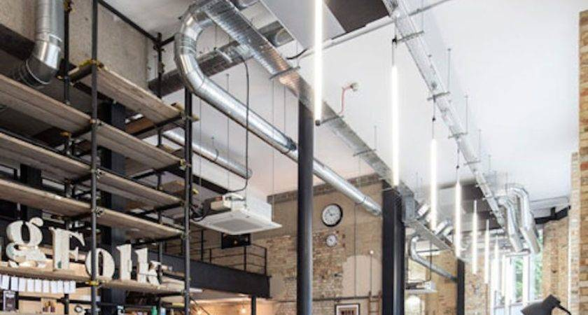 Inspirational Industrial Style Offices Warehouse Home