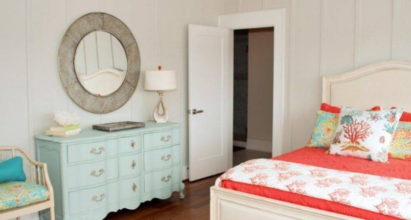 Inspired Coral Wall Paint Sacramento Traditional Living