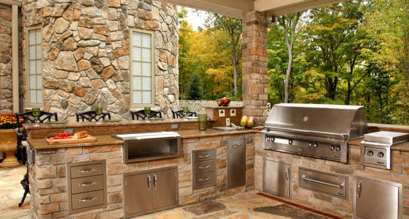 Inspired Outdoor Griddle Patio Contemporary