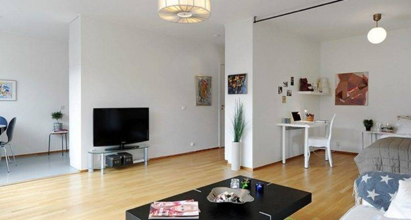 Inspiring All One Room Apartment Stockholm
