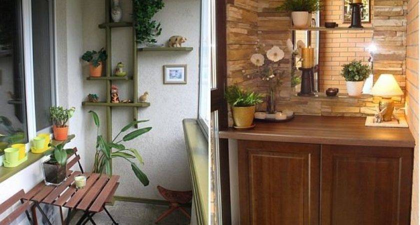 Inspiring Small Balcony Design Ideas