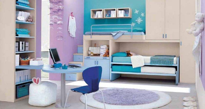 Inspiring Small Bedroom Ideas Girl Turquoise