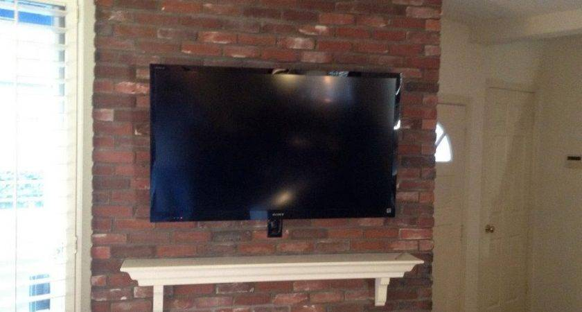 Installation Over Brick Fireplace All Components