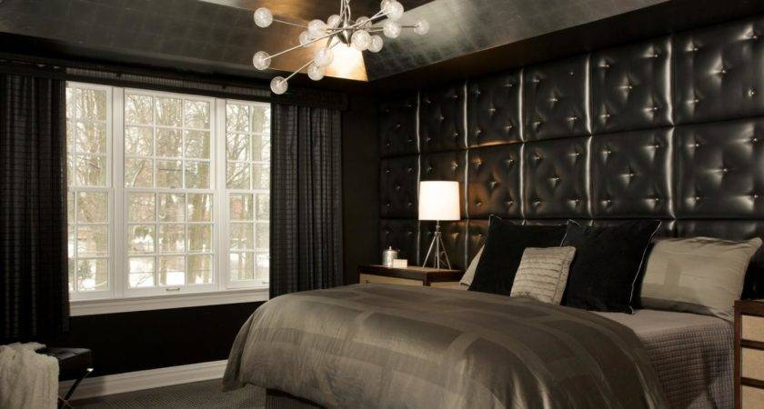 Interesting Black Bedroom Ideas Designs
