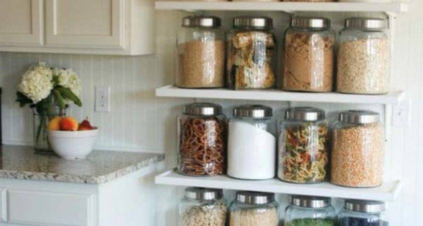 Interesting Practical Shelving Ideas Your Kitchen