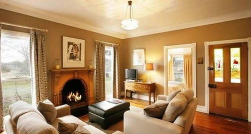 Interior Brown Living Room Paint Cool Ideas