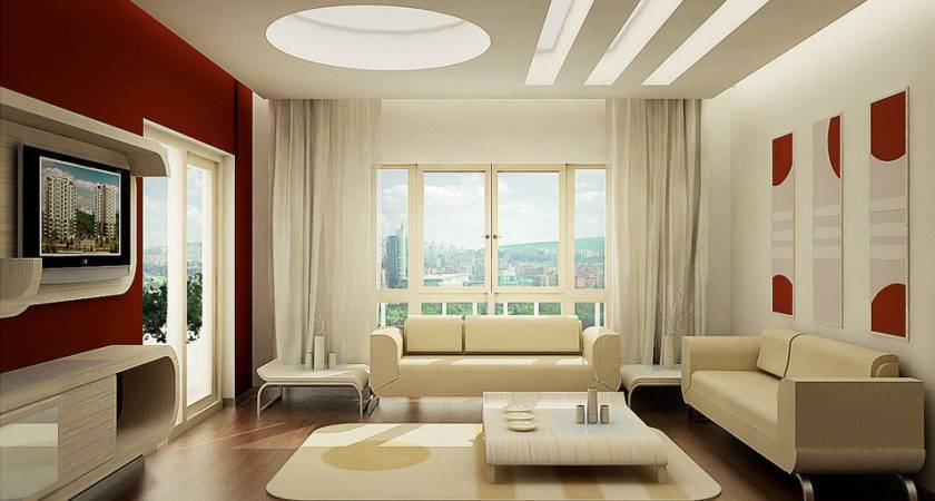 Interior Decorating Ideas Living Rooms Red Touch Small