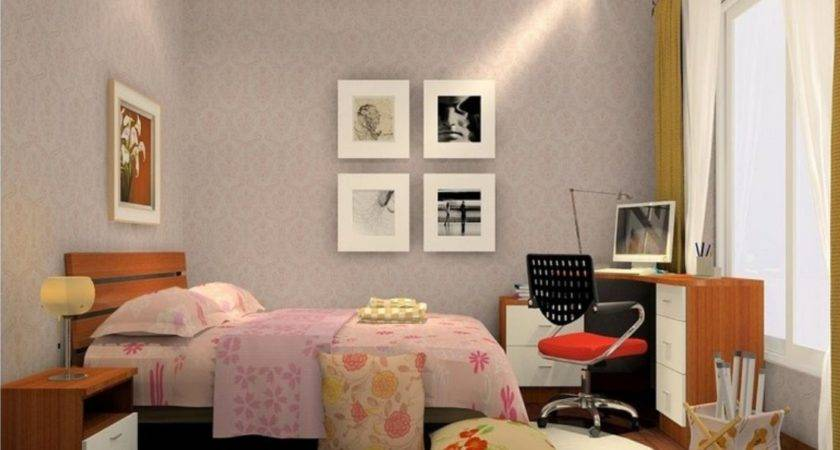 Interior Decoration Bedroom Simple European Style