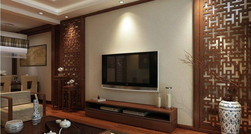 Interior Design Chinese Style Woodcarving Wall