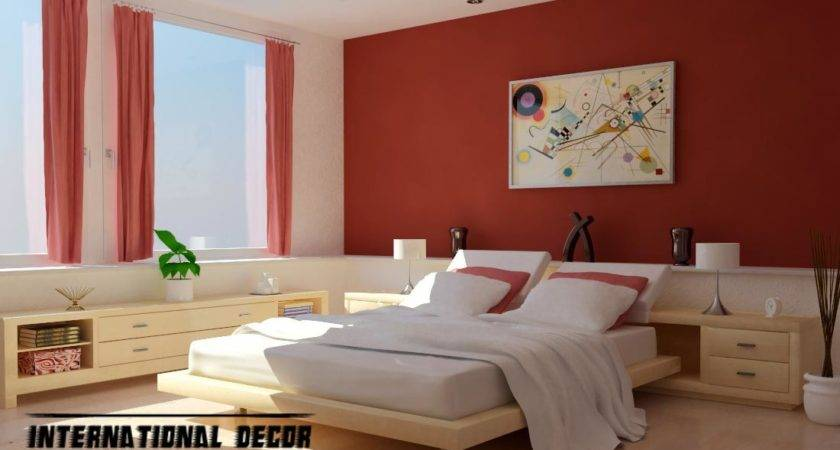 Interior Design Latest Bedroom Color Schemes