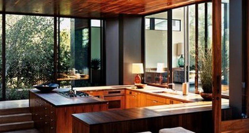 Interior Open Kitchen Floor Plans Bring Closer