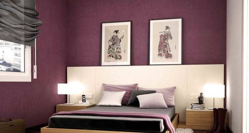 Interior Purple Color Combos Room Paint Ideas