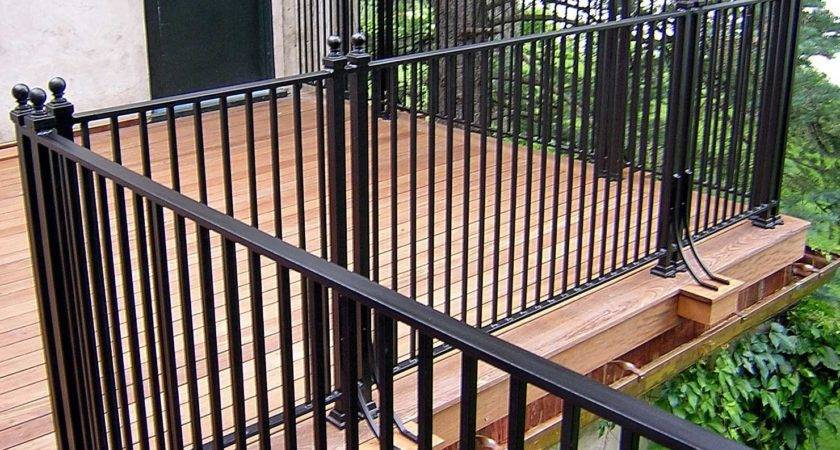 Iron Deck Railing Systems Ideas Designs Styles Options