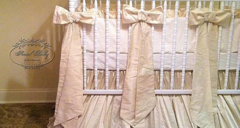 Items Similar Gender Neutral Baby Bedding Bows Etsy
